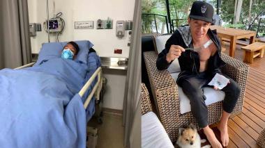 Rigoberto Urán fue sometido a cirugía para retirarle placa de la clavícula