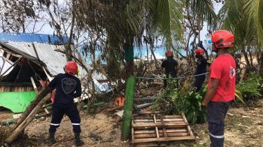 """""""Eta es uno de los huracanes más grandes que ha pasado por San Andrés"""""""