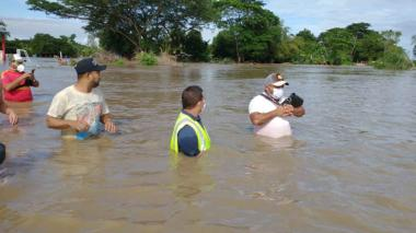 Donatón por los damnificados del desbordamiento del río Fundación