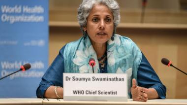 Soumya Swaminathan.