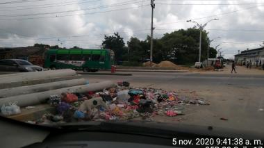 Distrito recogió 20 toneladas de basura de rejillas tras lluvias