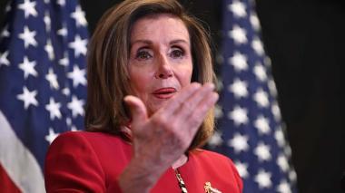 Nancy Pelosi llamó presidente electo a Joe Biden