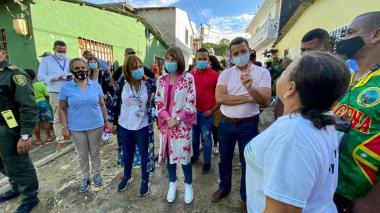 Mininterior viaja a San Andrés para gerenciar ayuda a damnificados
