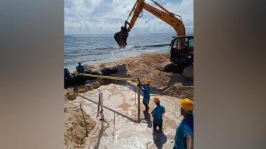 En marcha plan de acción en San Andrés para atender afectados por Eta