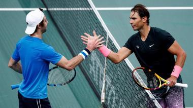 Nadal pierde ante Zverev en puertas de la final de París