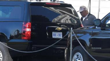 Trump, atrincherado en su campo de golf, sigue sin reconocer la derrota