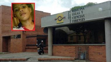 Foto en vida de la víctima y sede del Instituto de Medicina Legal y Ciencias Forenses de Bucaramanga.