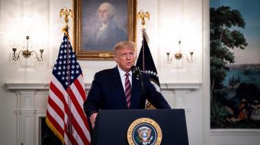 """""""Esta fue una elección robada"""": Trump sigue rechazando resultados"""