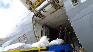 Llegan tres toneladas de ayuda humanitaria a San Andrés