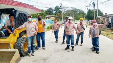 Bloquearon una vía en la zona norte de Sincelejo para exigir pago
