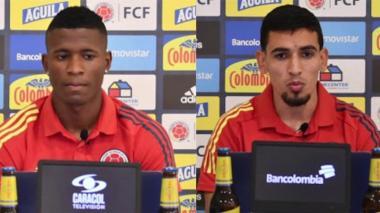 Luis Manuel Orejuela y Daniel Muñoz concedieron una rueda de prensa virtual este martes.