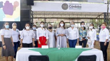 Vicepresidenta Marta Lucía Ramírez llega a Córdoba con 'Inés'