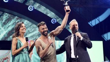 El boricua Ricky Martin fue uno de los protagonistas de la edición de este año del festival Viña del Mar.