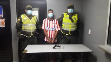 En video | Capturan a tres presuntos atracadores en Rebolo