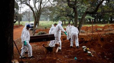 La Covid-19 ha cobrado más de 163 mil vidas en Brasil