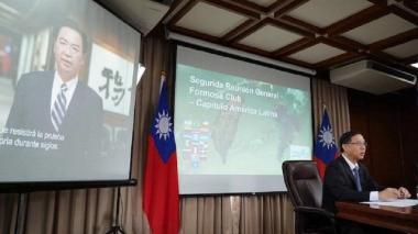 El viceministro de Relaciones Exteriores de Taiwan, Miguel Tsao.