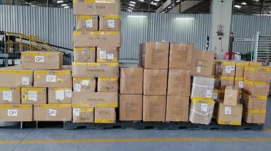 Embajador Amín anuncia entrega de 30 ventiladores a San Andrés