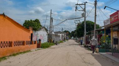 Una de las calles principales del barrio Bellavista Etapa III, donde se presenta la problemática.