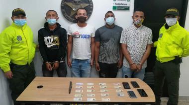 En video | Policía desmantela banda de ladrones 'Los Magníficos'