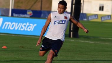 Luis Fernando Muriel podría iniciar por banda izquierda en el ataque de Colombia.