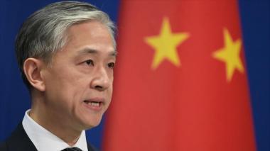 Portavoz del Ministerio de Asuntos Exteriores de China Wang Wenbin.