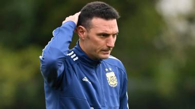 Lionel Scaloni, director técnico de Argentina.