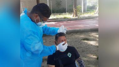Realizan 231 pruebas de Covid a deportistas en Villa Bolivariana