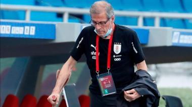 Óscar Washington Tabárez reconoció lo importante que fue este triunfo para Uruguay.