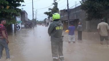 Empezó caracterización en las 4 zonas más afectadas por IOTA en Cartagena