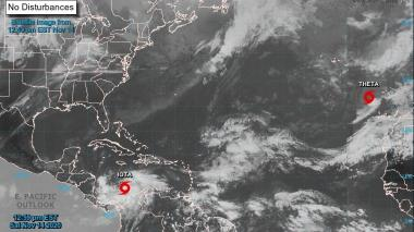 Nicaragua espera a Iota el lunes como huracán