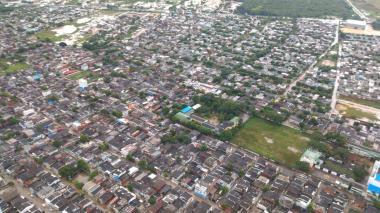 Autoridades en Cartagena realizan sobrevuelo para evaluar zonas afectadas