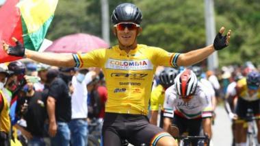 El barranquillero Nelson Soto ganó la tercera etapa de la Vuelta a Colombia