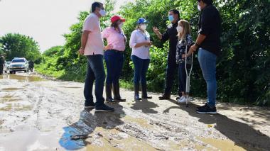 Censo a damnificados de Palmar de Varela y Sabanagrande