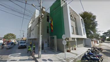Estación de Policía de Malambo donde, al parecer, ocurrieron las agresiones.