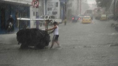 Fuertes lluvias seguirán azotando al Atlántico