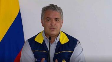 Duque pide apoyo a EEUU para agilizar ayudas para San Andrés y Providencia