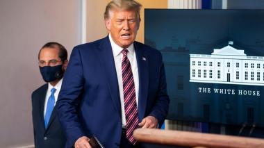 Trump acusa a Pfizer de retrasar los datos sobre vacuna a después de comicios