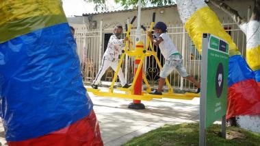 'Vacaciones Recreativas' se toman los parques de Barranquilla