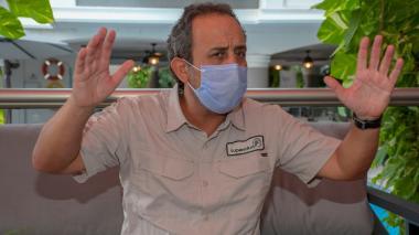 Fabio Aristizábal, superintendente de Salud.