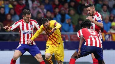 Vuela el Atlético de Madrid y el Barcelona queda tocado