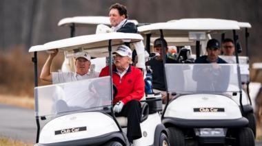 Trump se escapa de evento del G20 sobre pandemia para jugar golf