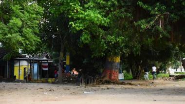Sector donde se produjo el ataque a bala.