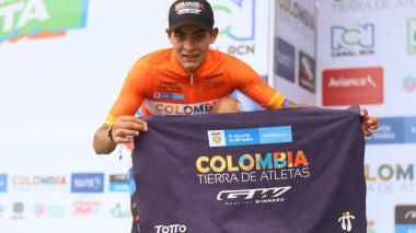 Diego Camargo, ciclista colombiano, ganador de la Vuelta a Colombia.