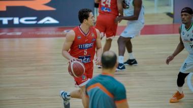 Gianluca Bacci manejó los hilos del equipo durante toda la temporada.