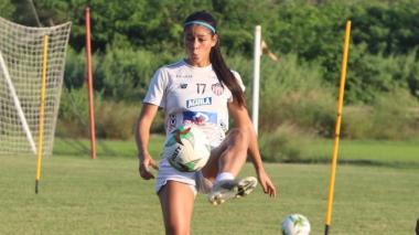 Renata Arango, integrante del Junior femenino.