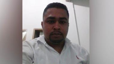 William Enrique Guzmán Doria, fallecido.