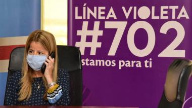 La Línea Violeta, el llamado para acabar con la violencia