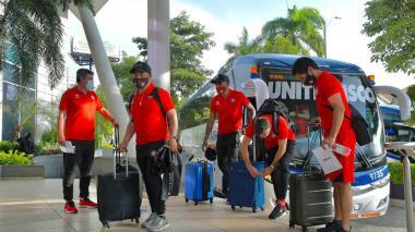 En video | Unión la Calera ya está en Barranquilla