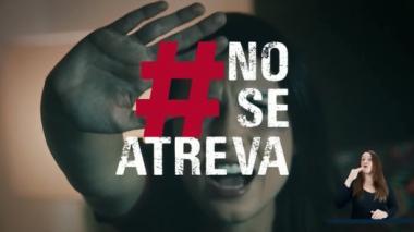 #NoSeAtreva, una campaña para proteger los derechos de las mujeres