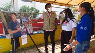 En Riohacha se inauguró Galería Postales de Integración